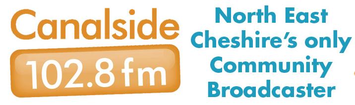 Canalside radio link to website