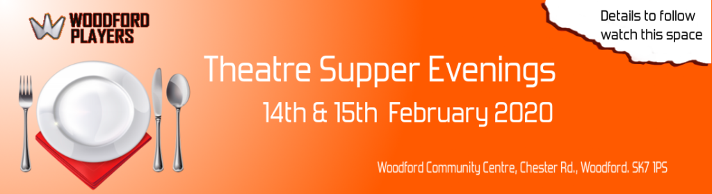 Woodford Players Theatre Supper 2020